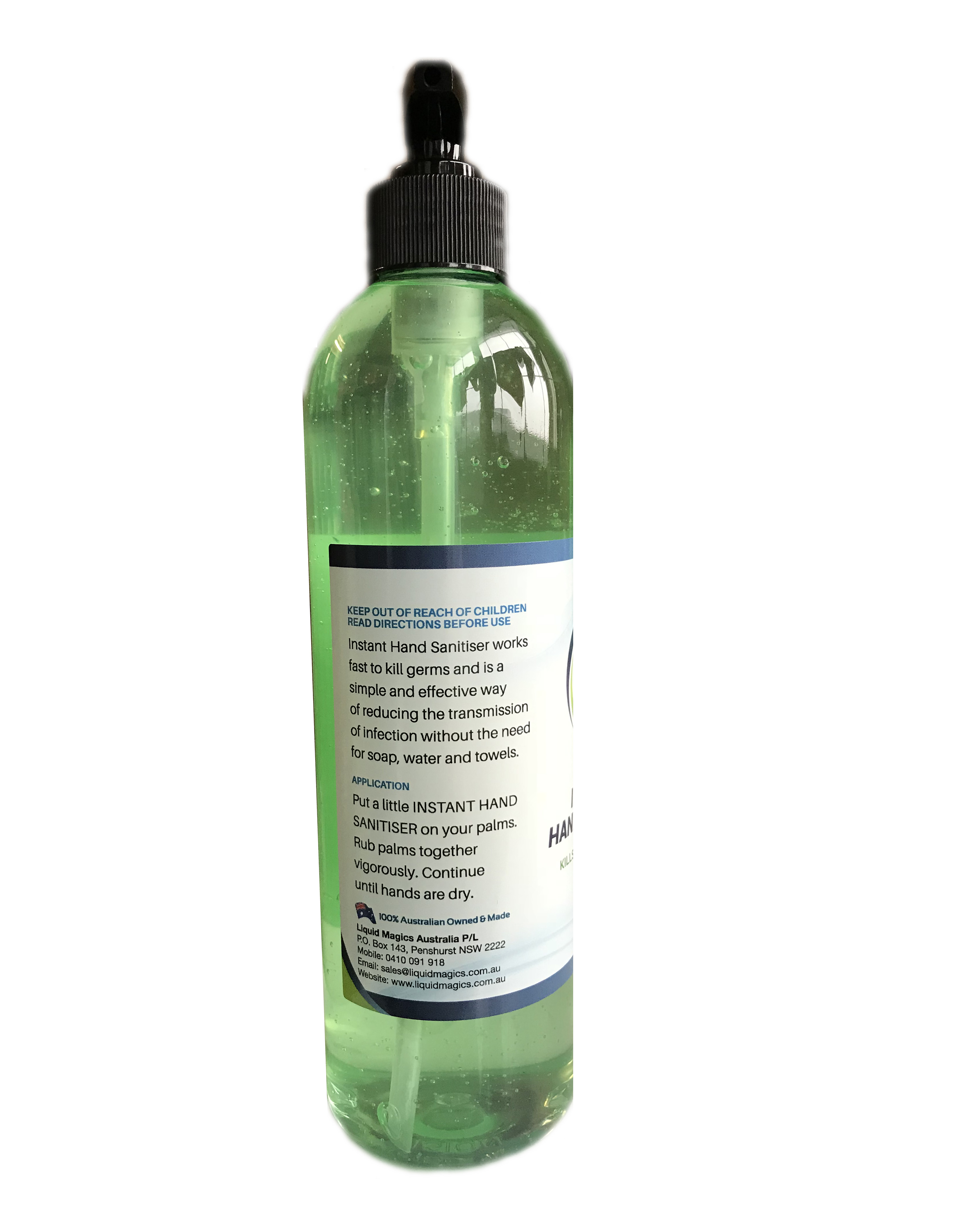 500ml Hand Sanitiser